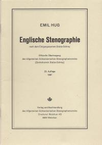 «Englische Stenografie» mit Schlüssel