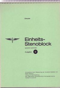 Greuter Stenoblock B: 6 mm, 3 Spalten