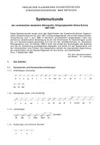 «Systemurkunde 1897/1967»