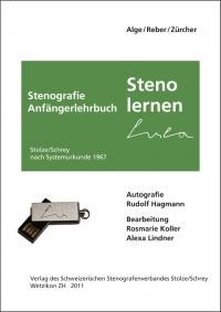 """Steno-Lern-Stick (USB-Stick), inkl. Anfängerlehrbuch """"Steno lernen"""" für Mitglieder"""