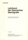 «Lehrbuch der spanischen Stenografie» mit Schlüssel